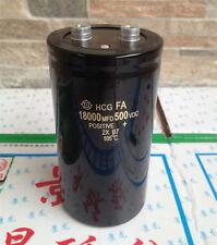 1PCS HITACHI 500V 18000UF Filter electrolytic capacitor 90X155mm 105℃ #E263 YX