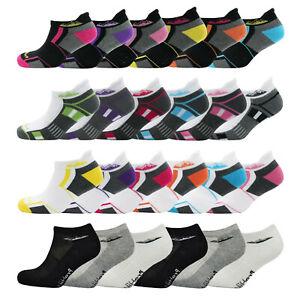 Womens Cushion Sole Comfort Padding Trainer Socks Ladies Sports Gym Yoga UK 4-8