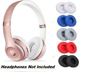 Replacement Ear Pads Soft Cushion Cover for Dr. Dre Beats Solo 2.0 & 3.0 Headset