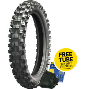 Michelin  Mx Starcross 5 110/90-19 62M Medium Rear Motocross Tyre + Free