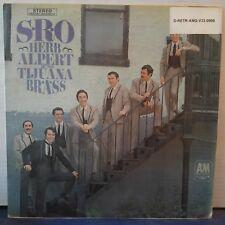 "Herb Alpert & The Tijuana Brass – S.R.O. (Vinyl 12"", LP, Album, Mono)"