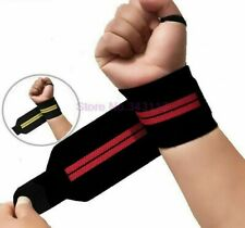 1pair Nonslip Weight Lifting Straps Training Gym Gloves Hand Wrist Wraps Support