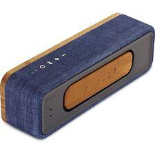 House of Marley vederci Mini Altoparlante Portatile Wireless Bluetooth Blu Denim
