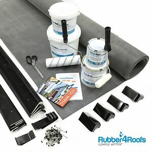 Rubber Roof Kit For Garden Rooms & Outbuildings, 50 Year Life, ClassicBond EPDM