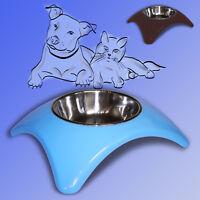 Hunde und Katzen Napf 400ml, Edelstahl Futternapf Wassernapf Fressnapf