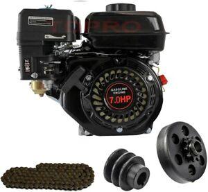 7.5HP 210cc 168F OHV Go Kart Petrol Engine Motor Kit Replace for Predator 212cc