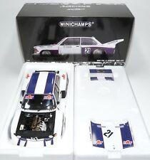 BMW 320i Gr.5 E21 DRM 1977 Team Hat Ronnie Peterson Minichamps 100772121 1:18
