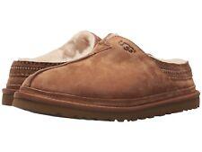 5bba8ce9612c UGG Australia Men s Neuman Chestnut Suede Slippers Moccasin 3234 Size 7 ...
