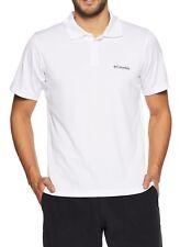 95e15e8f6a1 Columbia 71405701 Utilizer Polo Shirt for Men Short Sleeve White S