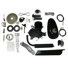 2-Stroke 80cc Cycle Motor Engine Kit Gas For Motorized Bicycle Black