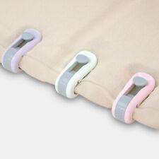 6Pcs/Set Bedspread Cover Quilt Fixing Clip Buckle Home Duvet Holder Fixer