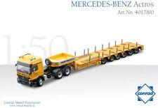 Conrad 40178 Mercedes-Benz Actros w/Goldhofer STZH6 Lowboy BRACHT 1/50 MIB