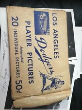 1964  Los Angeles Dodgers Player Pictures- Set of 20 PLUS PRICE LIST