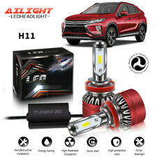 H11 H8 H9 LED Headlight Light Bulbs Low Beam For Mitsubishi Eclipse 2009-2012