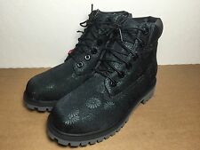 """Timberland 6"""" Girls Classic Floral Premium Waterproof Boots (TB0A177S) US GS 4Y"""