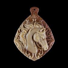 Carved Horse Designer Pendant Bead GC400015