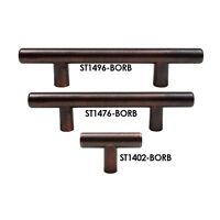 T Bar Knobs Handles Pulls Kitchen Cabinet Hardware Brushed Bronze