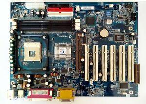 Gigabyte GA-8IRX mainboard socket 478 6x PCI AGP CNR 2x COM LPT audio/game 149