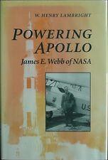 JAMES E. WEBB OF NASA, 1995 BIOGRAPHY (APOLLO 11 ROCKET CVR