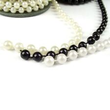 3 Yards of Artificial Pearl Garland.  Wedding Reel String Beads Chain