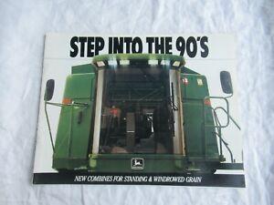 1988 John Deere 9400 9500 9600 combine brochure