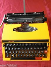 Refurbished BROTHER 660 TR de Luxe Manual Portable Typewriter, Case, warranty