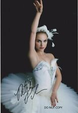 "Natalie Portman,  ""Black swan"" , A4 hand signed picture"