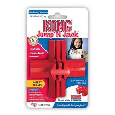 Kong Dog Toy .............  Kongs Rubber Play Fetch Jump 'N Jack - Medium