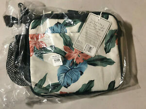 Pottery Barn Teen Roxy Sun Soaked Floral Gear-Up Recycled Lunch Box Cold Pack