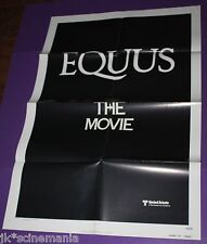 EQUUS MOVIE POSTER ORIGINAL ONE SHEET ADVANCE