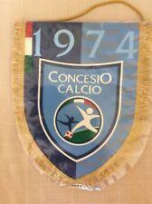 GAGLIARDETTO UFFICIALE CALCIO CONCESIO CALCIO 1974  RETRO CON SPONSOR RIZZINELLI