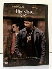 "Denzel Washington in ""TRAINING DAY"" Widescreen Action/Drama DVD 2002 Ethan Hawke"