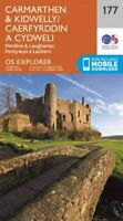 Carmarthen and Kidwelly by Ordnance Survey 9780319243701 | Brand New