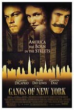 """GANGS OF NEW YORK Movie Poster [Licensed-NEW-USA] 27x40"""" Theater Size"""