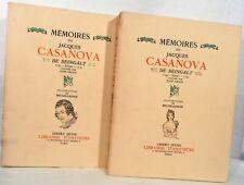 Filippo Brunelleschi / Memoires De Jacques Casanova De Seingalt 1734- Extraits