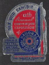 USA Poster stamp: 12th Annual Conven. Expo of National Food Distributors - dw21h