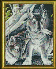 "Near North Treasures ""Wolf Pups"" Pattern"