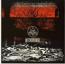 Woe - Withdrawal CD 2013 black metal Candlelight USA