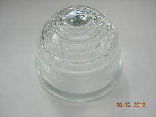 TRIUMPH SPITFIRE AUSTIN HEALEY 100 3000 MGA LUCAS LAMP LENS CLEAR GLASS  L594