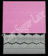 Silicone SERENITY 3D CAKE LACE Mat / Mold for Edible Sugar Lace by Claire Bowman