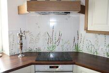 Fliesen, handbemalt ,Wiesenblumen für Küche, Bad, Herd, tolle Wanddekoration !