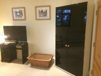 High Gloss & Matt Vinyl Wrap Kitchen Cabinet Bedroom Furniture Air Bubble Free