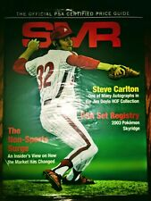 PSA Sports Market Report /Steve Carlton/Phillies/Back Issue Jan '19/ Unopened