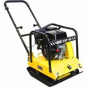 Güde Rüttelplatte GRP 90 4-Takt Benzin mit 4,1 KW Motorleistung Vibrationsplatte