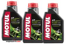 Lubricante Aceite Moto 4 tiempos Semi Syn MOTUL 5100 4T 10W50, Pack 3 litros