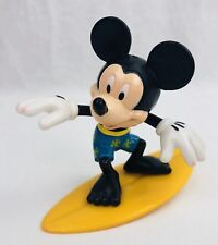 "Mickey Mouse on Surf Board 3"" Plastic Figure or Cake Topper Disney Decopac Inc"