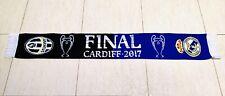 """REAL MADRID CF - JUVENTUS FC"" Champions League FINAL CARDIFF 2017 BUFANDA SCARF"