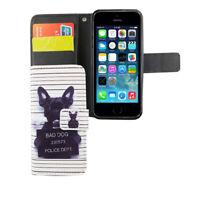 Apple iPhone 5 / 5s / SE Hülle Case Handy Cover Schutz Tasche Schutzhülle Weiß