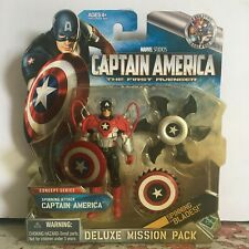CATFA Deluxe Mission Pack 01 Spinning Attack Captain America