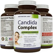 Candida Cleanse Pills - Yeast Kill Detox Supplement - L. Acidophilus Probiotics